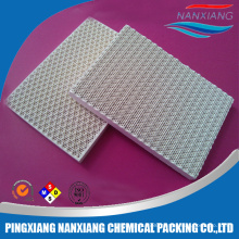 Ceramic honeycomb infrared plate for burner