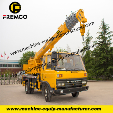 Dongfeng Truck Crane Used For Sale
