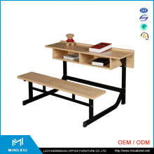 Luoyang Mingxiu High Quality Attached School Desks and Chair / School Desk