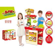 Super-estilo ocidental loja de cozinha brinquedos-controle remoto jogo set