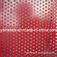 Powder Coated Perforated Metal Sheet