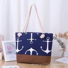 Lady Solid Color Large Capacity Bag Casual Luxury Handbags Women Bags Designer Beach Bag