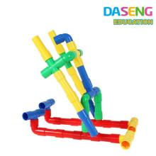 Bloques de tubería de plástico Construcción Aprendizaje Conjunto de juguetes educativos para niños pequeños