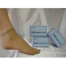 Nylon Anprobieren Socken Einmalige Socken Wegwerfsocken