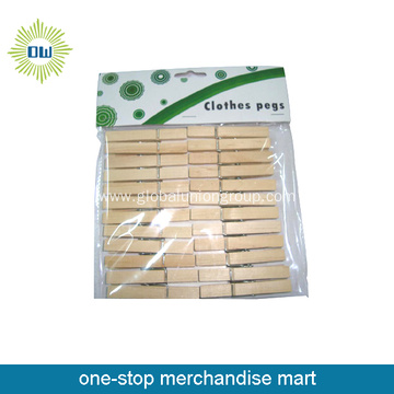 12pcs Wooden Eco-Freindly Clothes-Peg for Sale