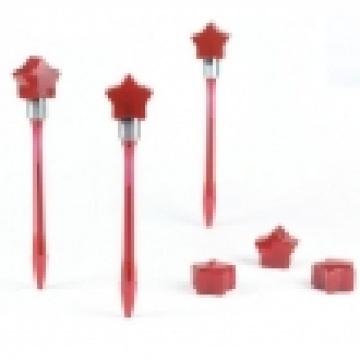 Fünfzackige Sternplastik Bump Pens
