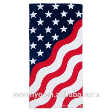 Abstract American flag Beach Towel 100% cotton BT-101