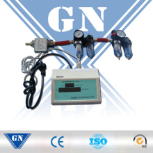 Gas Mass Flow Meter with Digital Totalizer