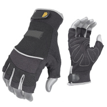 Membrane Liner Synthetic Leather Fingerless Glove for Postman Using