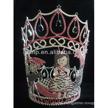 custom made rhinestone tiaras