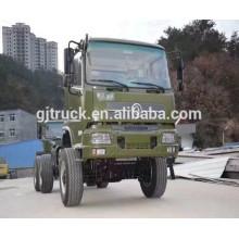 CNG Dongfeng camión militar / fuera de carretera camión / 6 * 6 Dongfeng camión de carga militar / camión de arena militar / militar camión volquete