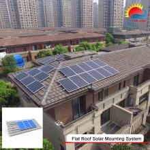 Montaje personalizado en panel solar para cochera (GD930)
