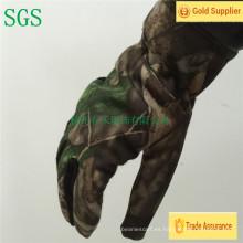 2016 nuevos guantes baratos del paño grueso y suave del deporte del bordado promocional del invierno