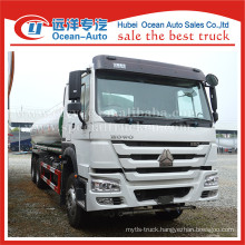 SINOTRUK HOWO 6X4 drive wheel 20000liters tank drinking water truck sale