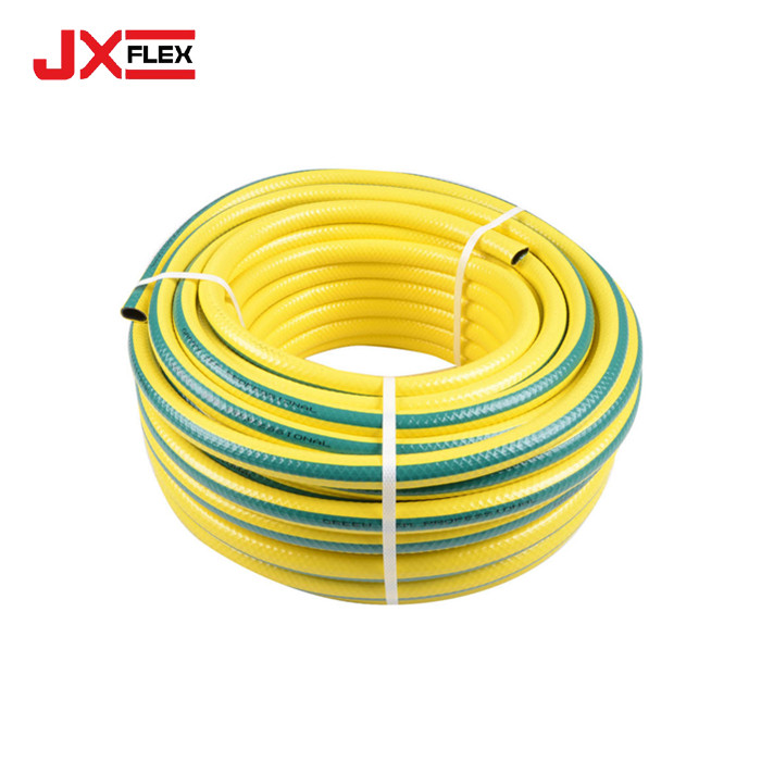 Green Yellow Garden Hose