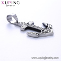 33495 xuping High quality Stainless Steel jewelry Viking Anchor shape cross pendant