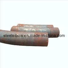 Carbón prensado caliente tubos de acero accesorios curva