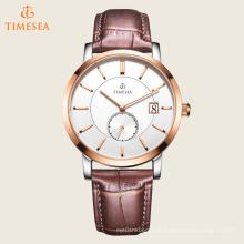 Relógios de couro moda popular para homens 72433