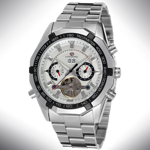 OEM/ODM stainless steel forsining automatic watch