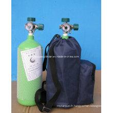 Cylindre de gaz en alliage d'aluminium 5L