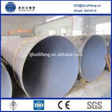 ST45 tuyau en acier à revêtement en polyéthylène à trois couches
