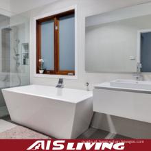 Vaidade de alto brilho fixada na parede dos armários de banheiro da laca (AIS-B010)
