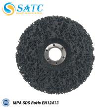 Disco de aba de tecido roxo para polimento de metal com reforço de fibra de vidro