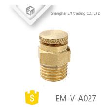 EM-V-A027 Válvula de ventilación de aire automática de latón para calefacción Válvula de latón