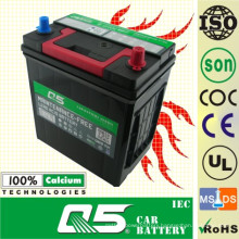 JIS-40B19 12V35AH Maintenance Free Car Battery Used in Japen Cars
