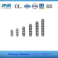 Metal Trauma Bone Orthopedic Implant Phalange Matacarpus Plate