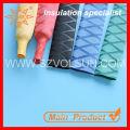 Nonslip yellow x-tube heat shrink wrap tubing for Fishing Rod