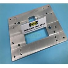 Fresagem CNC de precisão, usinagem de peças de alumínio para máquina