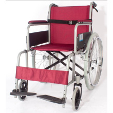 Pl-806D Manual 2.0mm Perfect Aluminum Alloy Chair Frame Wheel Chairs
