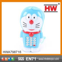 Electric Plastic BlueToy Cartoon Mobile Phone
