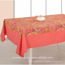 Tapis de table en coton