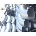 ANSI B16.9 acero inoxidable soldado a tope de 90 grados para la industria