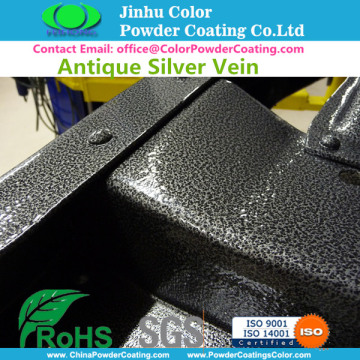 Antik Perak Vein Powder Coating Cat