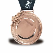 Medalla en blanco fundida a presión personalizada personalizada