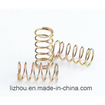 Compression Spring with Color Zinc-Plating