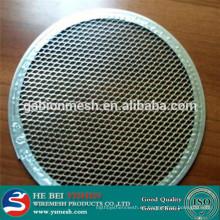 Pieza de filtro de acero inoxidable
