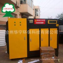 Purificación del desodorisante de gases residuales de la fotólisis UV de alta eficiencia