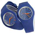 waterproof quartz silicone talking watch
