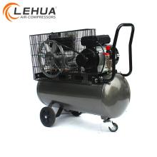 Compresor de aire de gas de neumático portátil accionado por correa