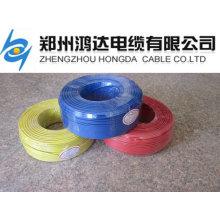 material de fiação de casa material isolado de fio de cobre