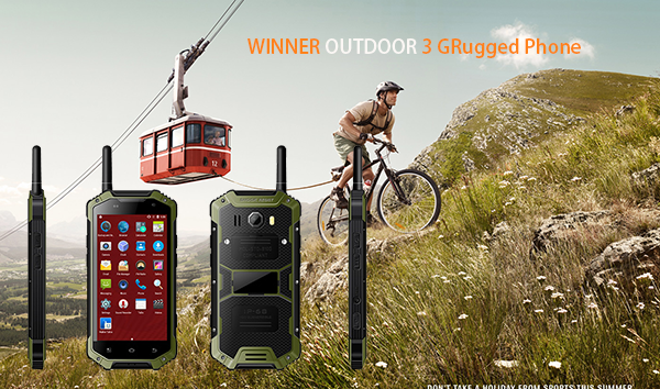 OUTDOOR 3 telefono GRugged