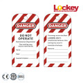 Safety Warning Tags Lockout Tagout Tag