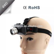 LED zoom перезаряжаемый кемпинг EDC headlamp