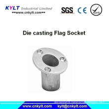 Aluminum injection Casting Heavy Duty Flag Holder/Bracket