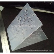 Carpeta para la fabricación de tarjeta de grabación en relieve de Scrapbook