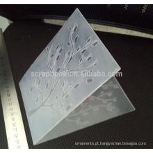 Gravação de pasta para fabricação de cartão de scrapbook